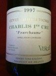 chablis fourchaume verget 1997