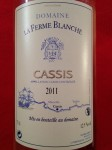 ferme blanche cassis 2011