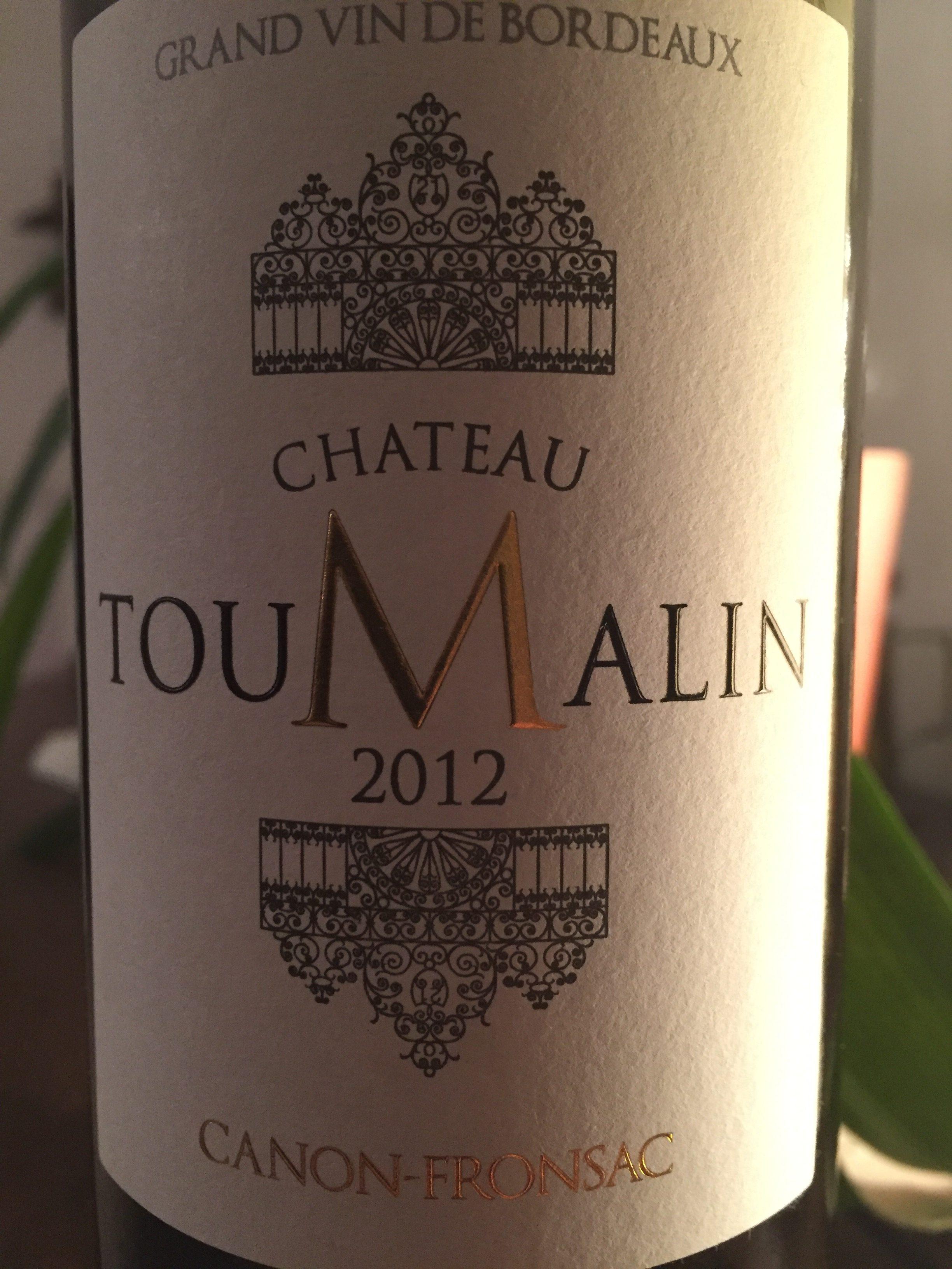 Château Toumalin 2012