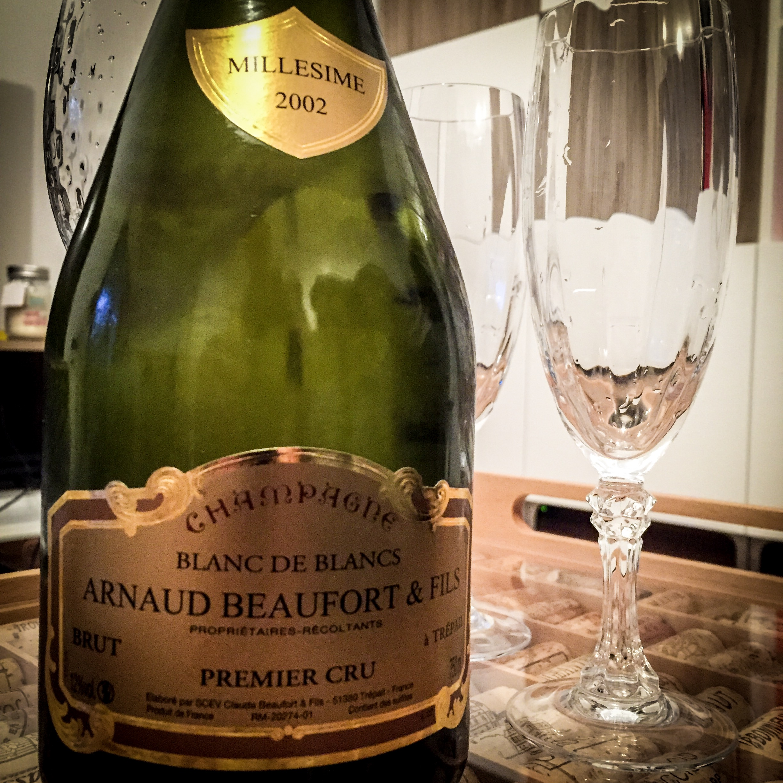 champagne Arnaud Beaufort 2002