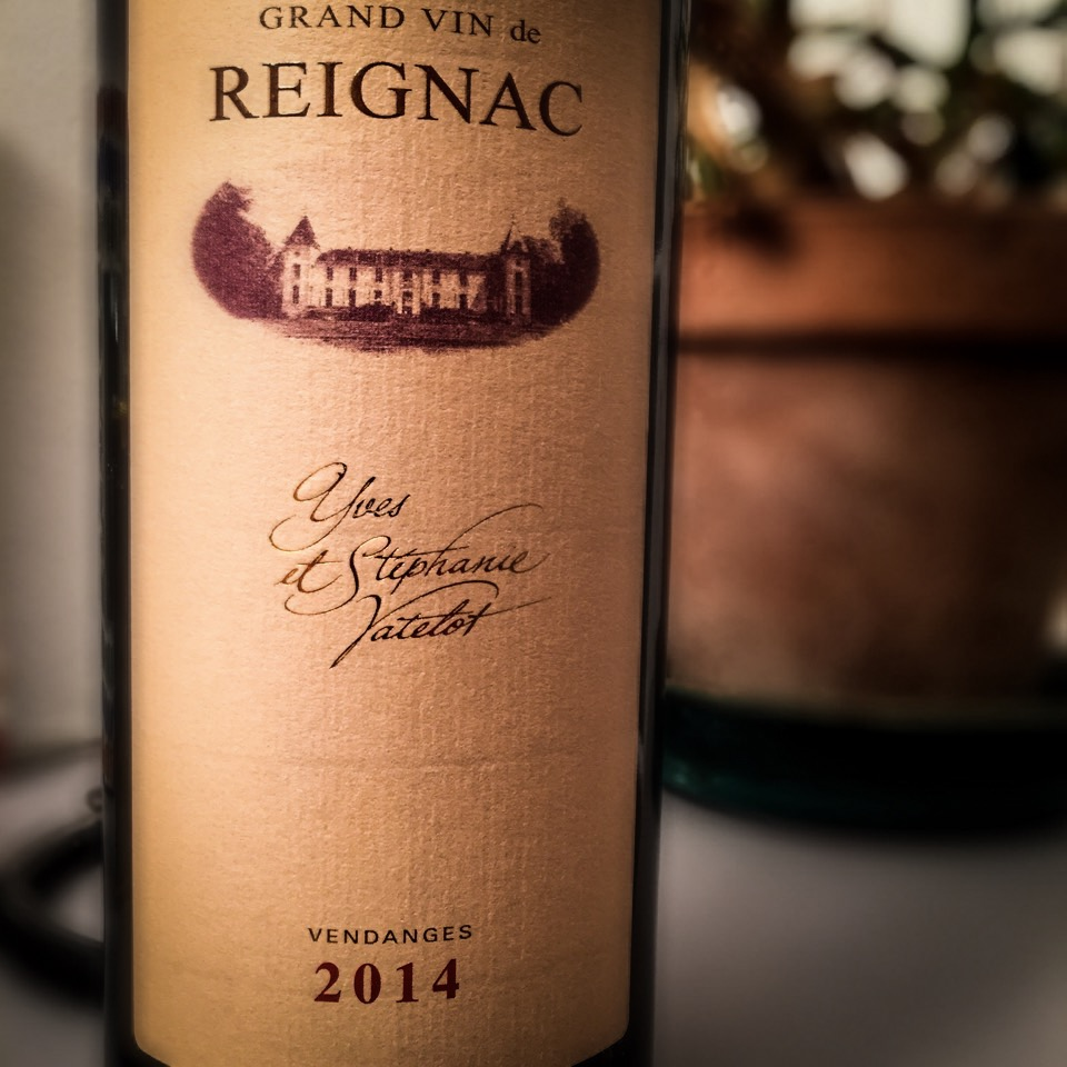 Grand vin de Reignac 2014